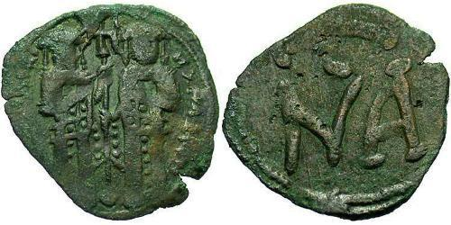 1 Assarion Byzantine Empire (330-1453) Bronze Andronicus II Palaiologos (1258-1332)