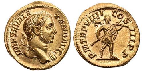 1 Aureus Roman Empire (27BC-395) Gold Severus Alexander (208-235)