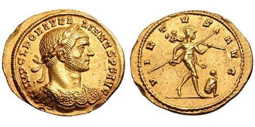 1 Aureus Roman Empire (27BC-395) Gold Aurelian (215-275)