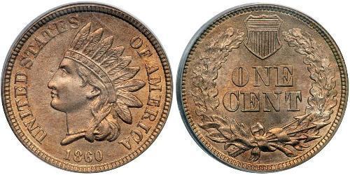 1 Cent 美利堅合眾國 (1776 - ) 銅/镍