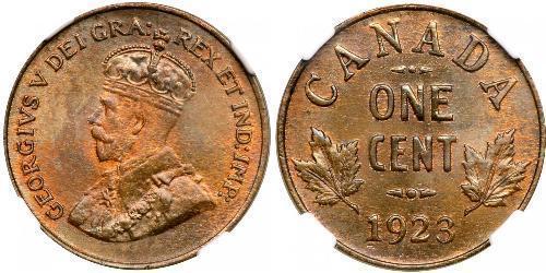 1 Cent Kanada  George V (1865-1936)