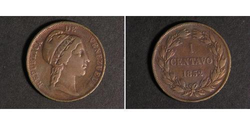 1 Centavo Venezuela 銅