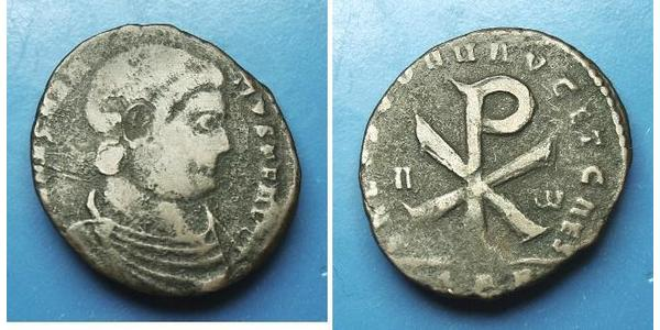 1 Centenionalis 羅馬帝國 青铜 Magnentius (303-353)