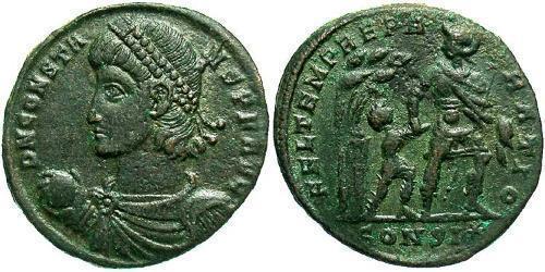 1 Centenionalis Roman Empire (27BC-395) Bronze Constans I (320-350)