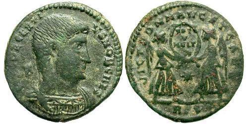 1 Centenionalis Western Roman Empire (285-476) Bronze Decentius (?-353)
