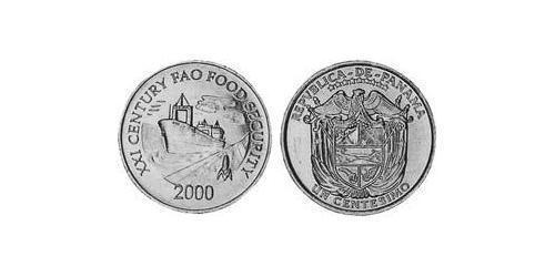 1 Centesimo Republic of Panama Aluminium