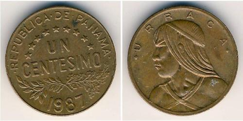 1 Centesimo Republic of Panama Bronze