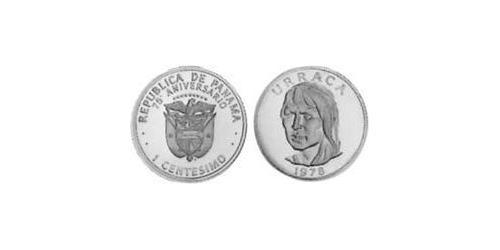 1 Centesimo Republic of Panama Copper