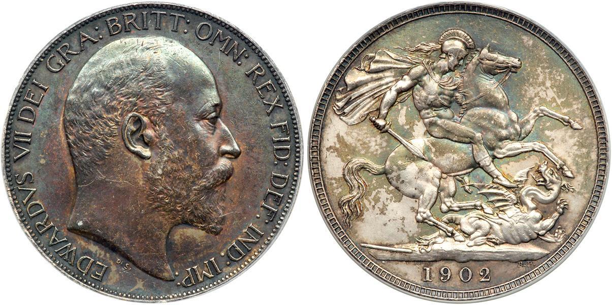 Moneta 1 corona regno unito di gran bretagna e irlanda for Edoardo viii del regno unito