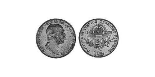 1 Corona Austria-Hungary (1867-1918) Silver