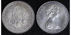 1 Crown Isle of Man  Elizabeth II (1926-)