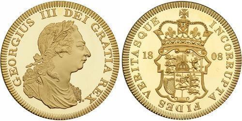 1 Crown United Kingdom Gold George III (1738-1820)