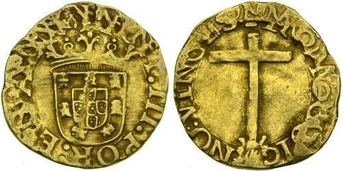 1 Cruzado  Kingdom of Portugal (1139-1910) Gold John III of Portugal (1502-1557)