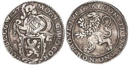 1 Daalder Reino de Holanda (1806 - 1810) / Reino de los Países Bajos (1815 - ) Plata