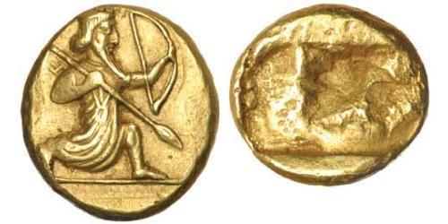 1 Daric Imperio aqueménida (550–330 BC) / Persia Oro