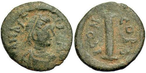 1 Decanummium Byzantine Empire (330-1453) Bronze Anastasius I (430-518)
