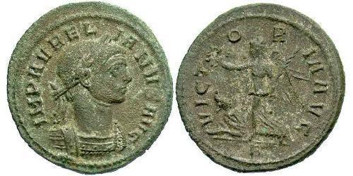 1 Denarius Roman Empire (27BC-395) Bronze Aurelian (215-275)
