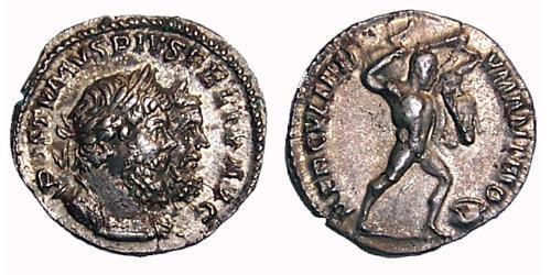 1 Denarius Gallic Empire (260-274) Silver Postumus (260-268)