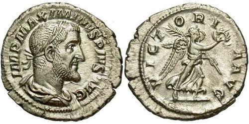 1 Denarius Roman Empire (27BC-395) Silver Maximinus I Thrax (173-238)