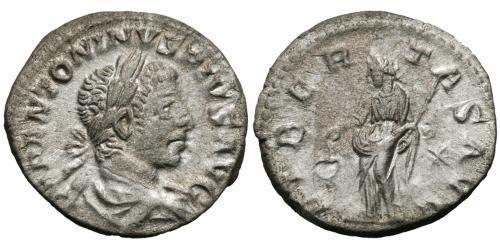 1 Denarius Roman Empire (27BC-395) Silver Elagabalus (203-222)