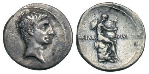 1 Denarius Roman Empire (27BC-395) Silver Augustus (63BC- 14)