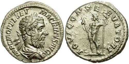 1 Denarius Roman Empire (27BC-395) Silver Macrinus  (165-218)