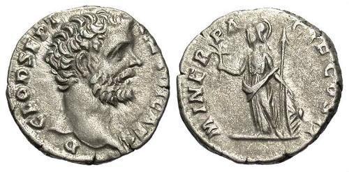 1 Denarius Roman Empire (27BC-395) Silver Clodius Albinus (150-197)