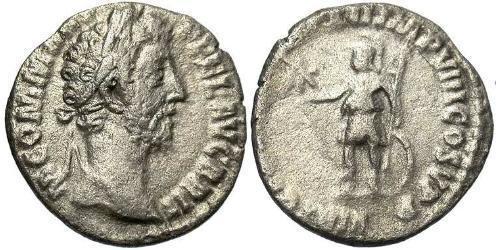 1 Denarius Roman Empire (27BC-395) Silver Commodus  (161-192)