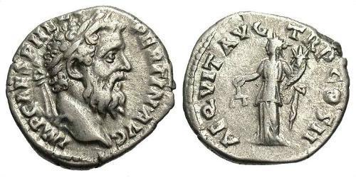 1 Denarius Roman Empire (27BC-395) Silver Pertinax (126-193)