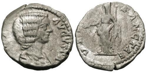 1 Denarius Roman Empire (27BC-395) Silver Julia Domna (?-217)