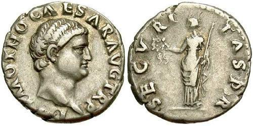 1 Denarius Roman Empire (27BC-395) Silver Otho (32-69)