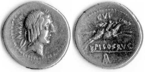 1 Denarius Roman Empire (27BC-395) Silver