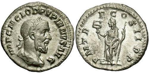 1 Denarius Roman Empire (27BC-395) Silver Pupienus Maximus (178-238)