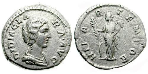 1 Denarius Roman Empire (27BC-395) Silver Didia Clara (153-193)