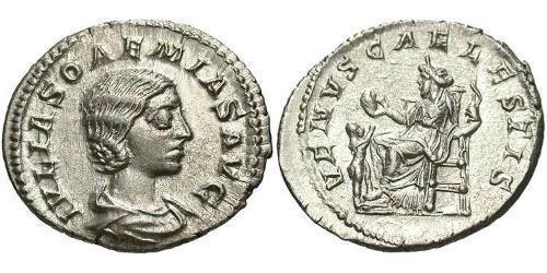 1 Denarius Roman Empire (27BC-395) Silver Julia Soaemias (180-222)