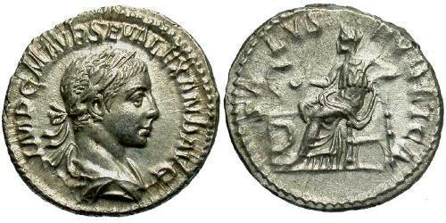 1 Denarius Roman Empire (27BC-395) Silver Severus Alexander (208-235)