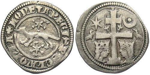 1 Dinar Kroatien Silber