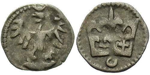 1 Dinar Kingdom of Poland (1025-1569) Silver John I Albert (1459-1501)