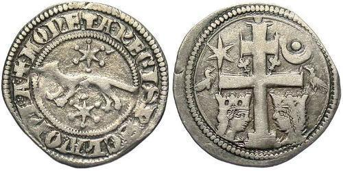 1 Dinaro Croacia Plata