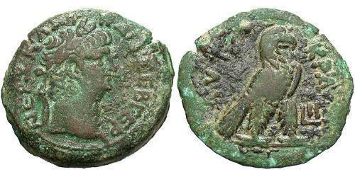 1 Diobol Roman Empire (27BC-395) Bronze Nero  (37- 68)