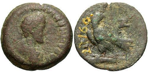 1 Diobol Roman Empire (27BC-395) Bronze Commodus  (161-192)