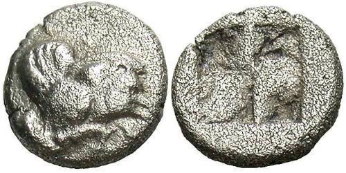1 Diobol Ancient Greece (1100BC-330) Silver