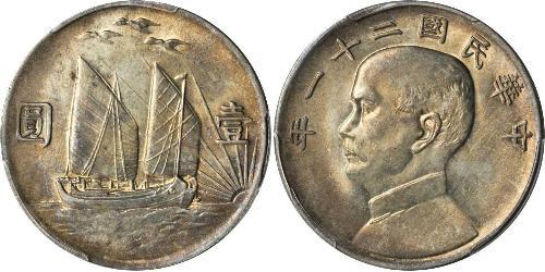 1 Dollar 中华人民共和国 銀