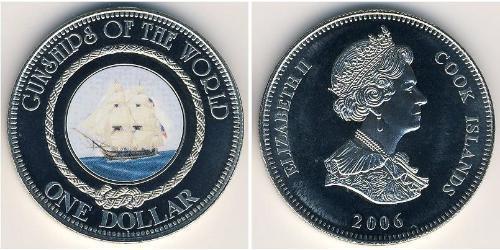 1 Dollar Cook Islands 銅/镍