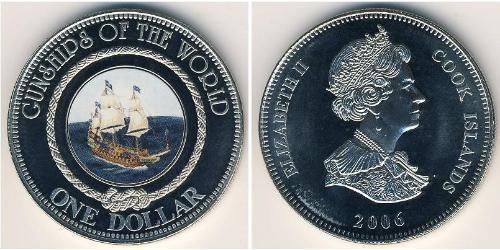 1 Dollar Îles Cook Cuivre/Nickel