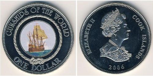 1 Dollar Cookinseln Kupfer/Nickel