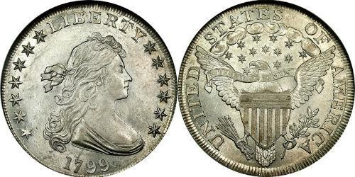 1 Dollar Vereinigten Staaten von Amerika (1776 - ) Silber Anne Willing Bingham (1764-1801)
