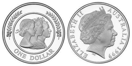 1 Dollar Australia (1939 - ) Silver