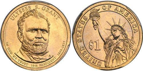 1 Dollar 美利堅合眾國 (1776 - )
