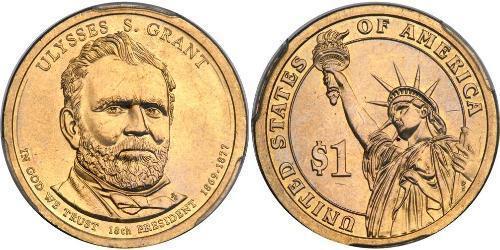 1 Dollar Vereinigten Staaten von Amerika (1776 - )